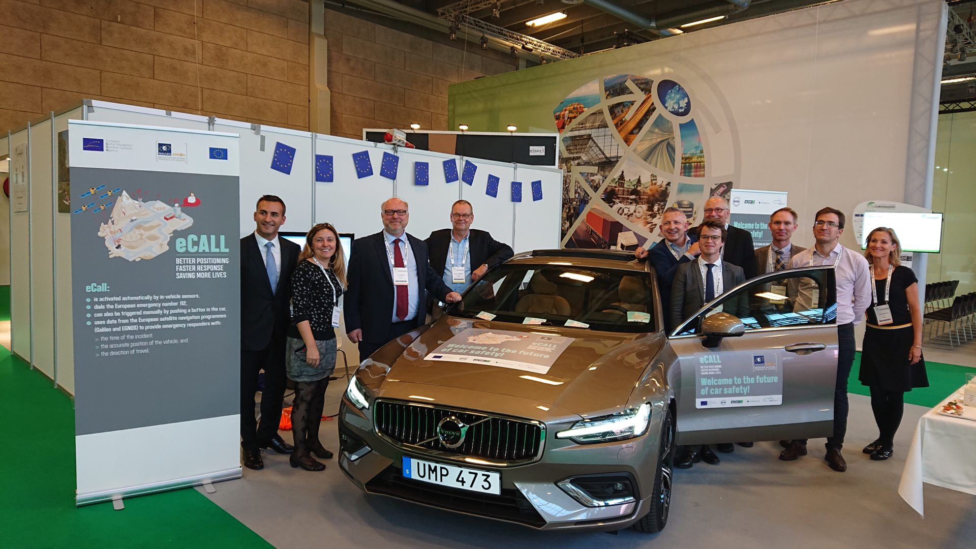 GNSS.asia presents first eCall-enabled car with Volvo & industry