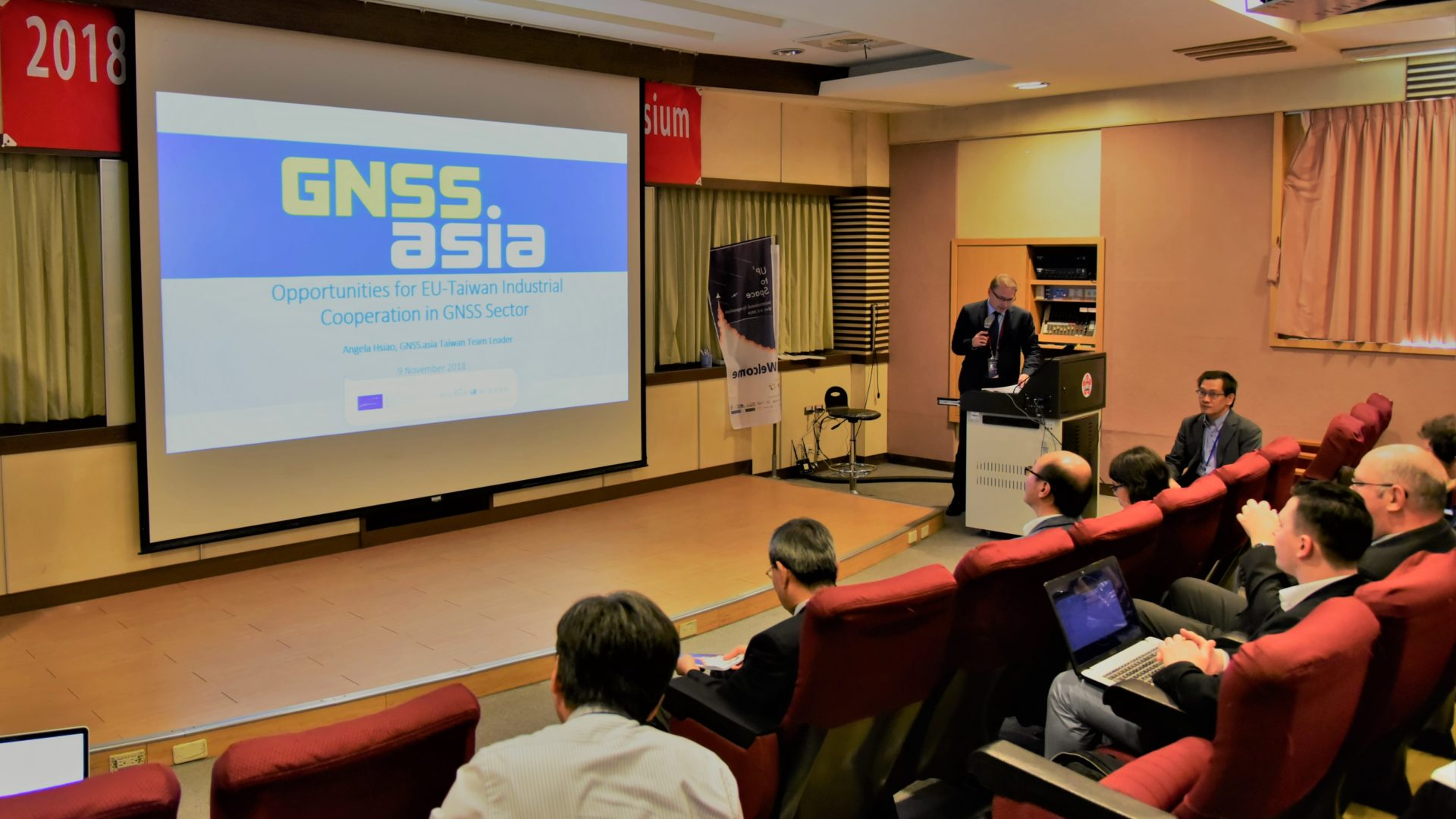 GNSS.asia at 2018 UP³ to Space International Symposium