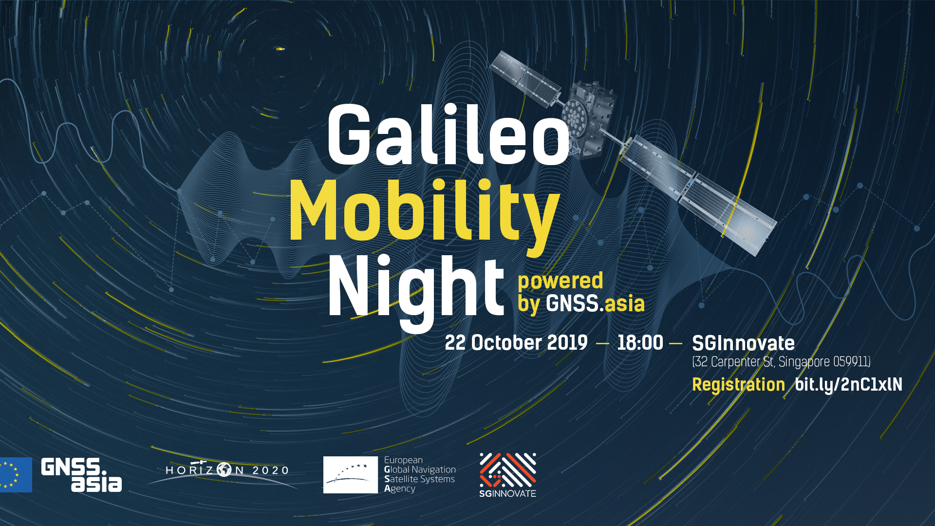 Galileo Mobility Night in Singapore