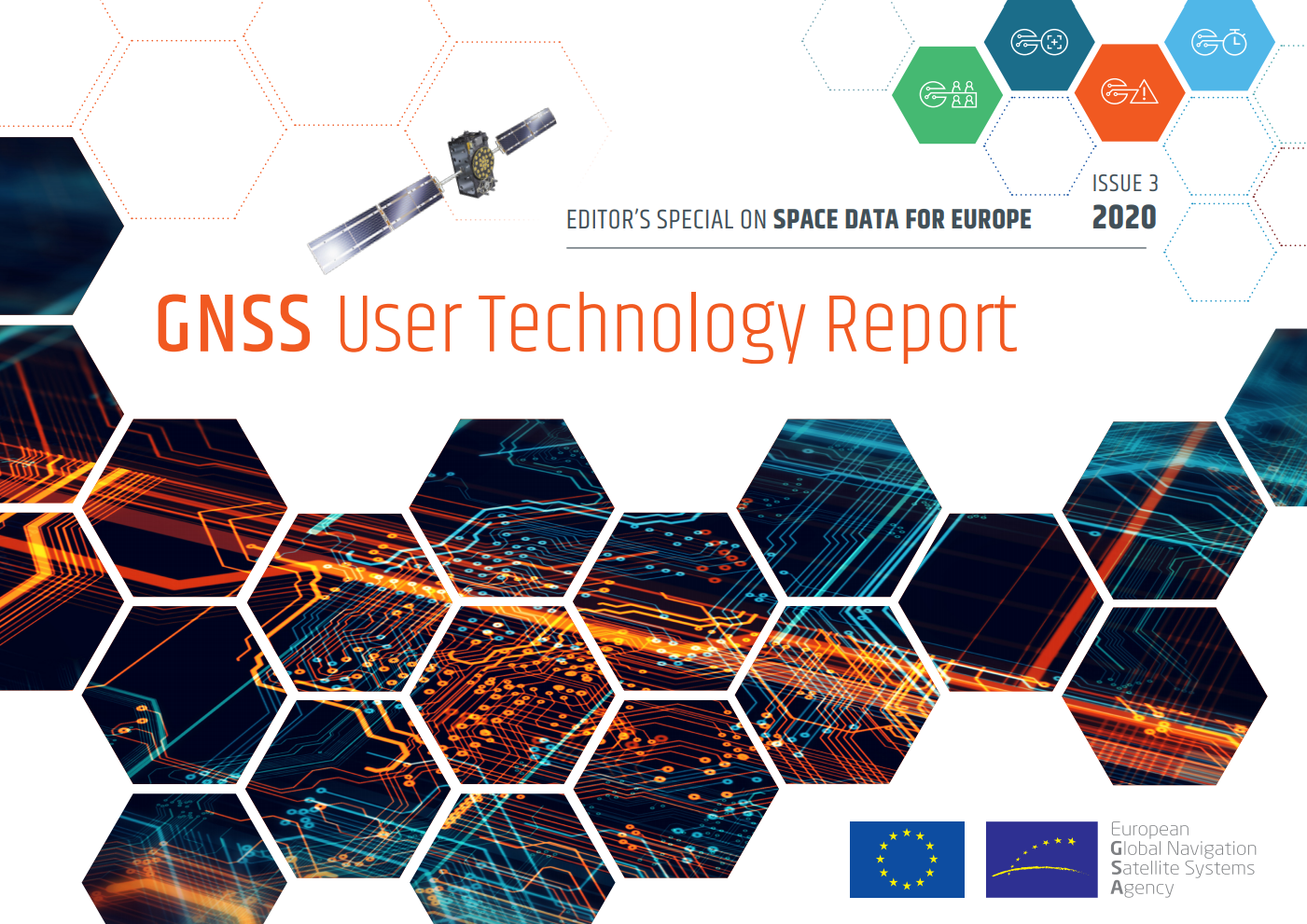 The latest edition of the GNSS User Technology Report is out!