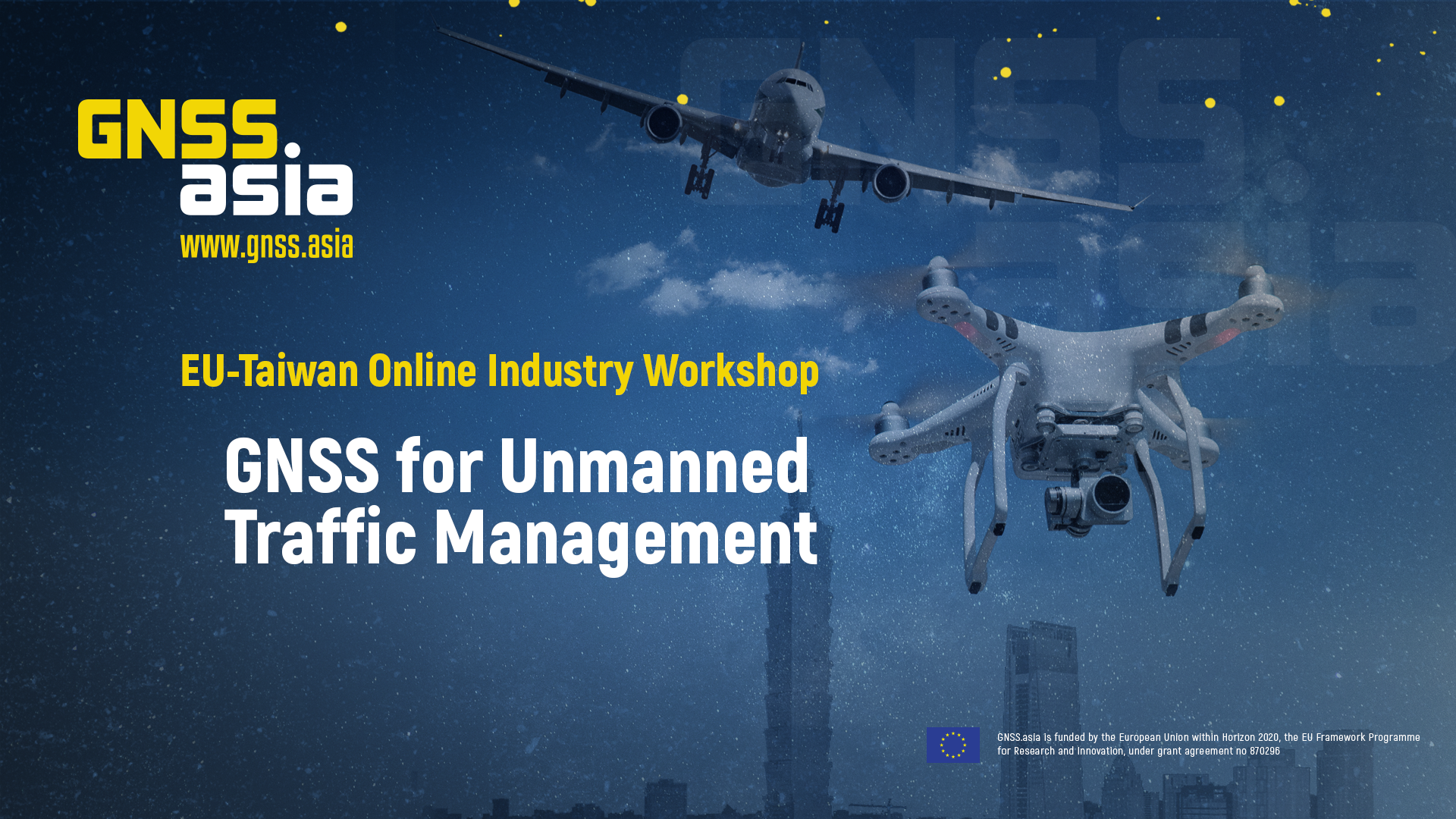 Flashback to the EU-Taiwan Online Workshop on GNSS for Unmanned Traffic Management